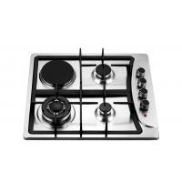 Wholesale Four Burners Gas Oven And Hob , Gas Top Electric Oven 201 Stainless Steel Panel from china suppliers