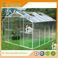 Buy cheap Aluminum Greenhouse Manufacturer Traditional Series Aluminum/Polycarbonate Hobby from wholesalers
