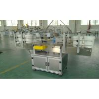 Automatic Cone-shape bucket labeling machine with plc and touch screen for sale