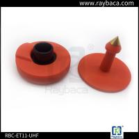 Wholesale Lightweight Cattle Tracking Ear Tags , Cattle Management Tags 860-960Mhz Frequency from china suppliers