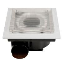 Wholesale flat silver plate ceiling ventilation fan from china suppliers