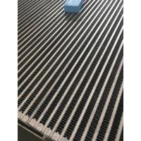 China Aluminum bar and plate core for air to air heat exchanger for sale