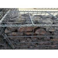 Wholesale Hot Dipped Galvanized Garden Gabion Baskets , Gabion Wall Mesh 4.0mm-5.0mm Wire Dia from china suppliers