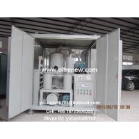 Quality High Vacuum Transformer Oil Purification Plant | Dielectric Oil Filtration System ZYD-100 for sale