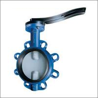 DN100 Cast Iron Wafer Fire Fighting Butterfly Valve