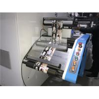 Narrow Web Single Color Flexo Printing And Semi Rotary Automatic Die Cutting Machine for sale