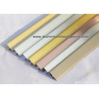 Wholesale T20 / T Shaped Aluminium Extrusion Profiles / Decorative Moulding Trims / Brace from china suppliers