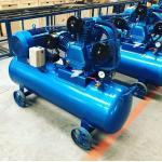 China Belt Driven Piston Air Compressor for Spray Paint OEM piston air compressors for sale