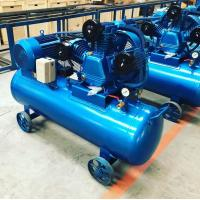 China Single Phase Belt Driven Air Compressor Piston Air-compressor With 3HP Motor For Sale for sale