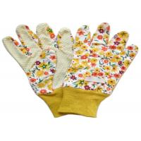 Wholesale Yellow Twill Working Hands Gloves Breathable Protecting Against Abrasion from china suppliers
