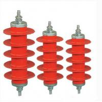 Wholesale Over Voltage Metal Oxide Gapless Lightning Arrester Ceramic For Electric Railway Systems from china suppliers