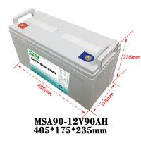 Wholesale Medical Equipment LiFePO4 Battery Backup For Camping 12V Lead Acid Replacement from china suppliers