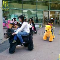 Wholesale Hansel shopping mall walking ride on animal toy animal robot for sale from china suppliers