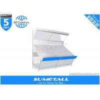 Convenience Store Metal Supermarket Shop Display Shelf For Vegetable Fruits Showing
