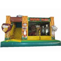 China Safari park inflatable combo inflatable elephant combo animals inflatable combo for sale for sale
