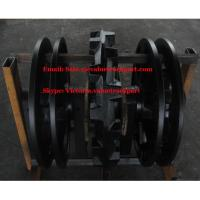 Wholesale SANY 100ton Crawler Crane SCC1000D Front Idler Assy from china suppliers