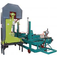 Wholesale MJ3210 planks/log wood cutting vertical automatic band saw sawmill with CNC carriage from china suppliers