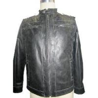 Wholesale Men′s Leather Coat (TTN 1008002) from china suppliers