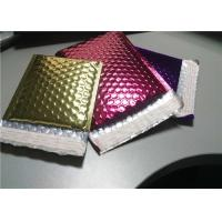 Wholesale 4 Layers Rose Gold Bubble Mailers , 380x330 #B4 Metallic Glamour Mailers from china suppliers