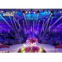 Wholesale Aluminum Big Outdoor Tents For Wedding Receptions , 500 People Wedding Canopy Tent from china suppliers