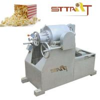 Wholesale Hot Air SS Puffed Rice Machine , Fast Speed Corn Puff Making Machine from china suppliers
