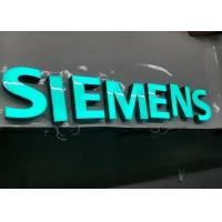 Wholesale SIEMENS Epoxy Resin Lighted Channel Letters for Store Cabinet Advertising from china suppliers