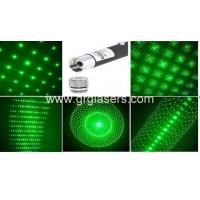 Wholesale 5 in 1 Green Laser Pointer Pen 1mW Star Effect Caps 5 Laserheads Lazer Light Made In China from china suppliers