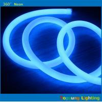 Quality 82' spool 12V DC blue 360 led neon for commercial for sale