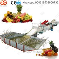 Best Hot Selling High Capacity Fruit Washing and Waxing Machine wholesale