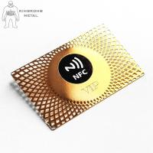 China Customised Metal  Smart Rfid Hotel Key Cards 13.56mhz Door Entrance Hotel Supply on sale