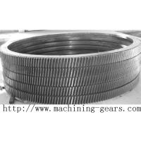 Best Large Transmission Helical Rack Gear Carbon Steel Material Tooth Ring wholesale
