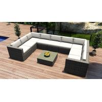 Wholesale Hot design Outdoor garden Furniture PE Rattan wicker patio sofa sets from china suppliers