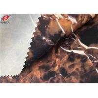 Wholesale Ester Marble Printing 95 Polyester 5 Spandex Fabric Bonded With TPU Film from china suppliers