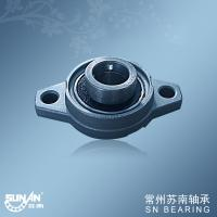 Medical Apparatus Zinc Alloy Pillow Block Bearings UFL002 , Ball Bearing Units