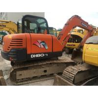 Wholesale Doosan DH80-7 Second Hand Excavators 0.28m3 Bucket Capacity ISO Certification from china suppliers