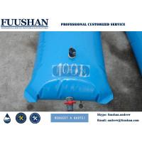 Fuushan 5000L UV  Heat Resistance Soft Flexible TPU Water Storage Tank Collapsable Fabric Fuel Tank for sale