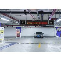 Wholesale Front Mounted Ultrasonic Parking Guidance System , Indoor Rs485 Car Parking Solutions from china suppliers