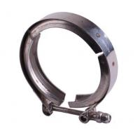 Fine Polished Grooved Pipe Clamps , Stainless Steel Pipe Fitting Clamps