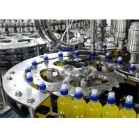 Best Auto Monoblock Liquid Filling Machine , 5 In 1 Plastic Bottle Liquid Filler Machine wholesale
