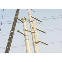 5m - 100m 33kv Transmission Line Towers , Steel Pole Tower ISO Certificated for sale