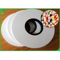 Wholesale 60gsm 120gsm Large Jumbo Roll FDA Craft Paper For Drinking Straws from china suppliers