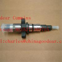 Dongfeng  isbe diesel engine fuel injector 0445120212/5255184 for sale