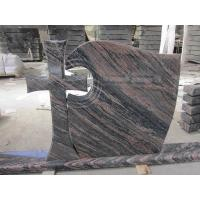 Wholesale China Aurora Granite Cross Headstones , Graveside Monuments Headstones Heat  Proof from china suppliers