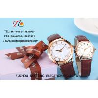 Wholesale WHOLESALE PU STRAP AND ALLOY CASE QUARTZ  WATCHES WITH DIAMOND  COUPLE WATCH from china suppliers