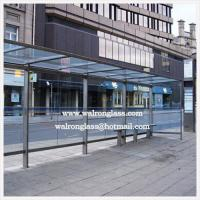 Wholesale Tempered/Toughened Glass for Public Bus Stop for Advertising Display from china suppliers