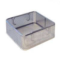 Stackable Structure Stainless Steel Wire Mesh Baskets For Medical Sterilization for sale