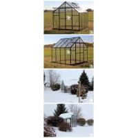 G-MORE Wholesales Traditional Series Aluminum Polycarbonate Hobby Greenhouse Aplication (3)