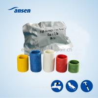 China Water-activated polyurethane resin wrap tape for fast seal repair leaking  tape armor wrap for sale