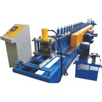 0.7~1.2mm Thickness Roller Shutter Door Roll Forming Machine With Perforation System