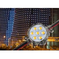 Wholesale Small 50MM Smd 5050 Pixel Xmas Lights , Facade Building Outdoor Pixel Lights from china suppliers